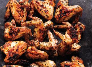 Fűszeres grillezett csirkeszárnyak - Olcsó és laktató