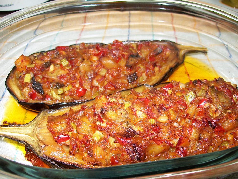 O reteta simpla, rapida si deliciosa! Vinete umplute cu legume