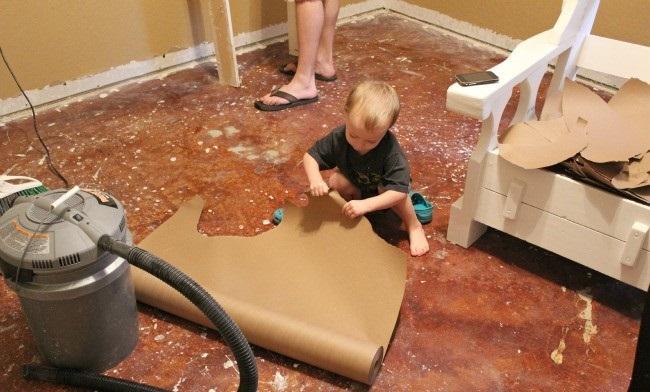 Hogyan távolítsuk el a vinil padlót
