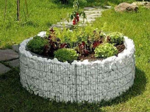 Gabion típusú kerti dekorációk, ha szereted a természetes ...
