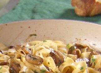 Gombás tészta - Elbűvölően finom és egyszerű