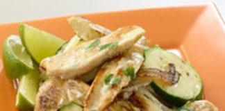 Cukkinis csirkeragu korianderrel megbolondítva - Az egyszerű recept egy kis extrával