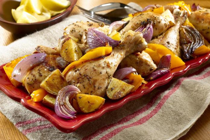 Görög sült csirke – fenséges vacsora a családnak