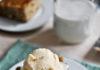 Karamelizal bananos kenyer sutemeny, vanilia fagylalttal - Mennyei elvezet 1 ora alatt