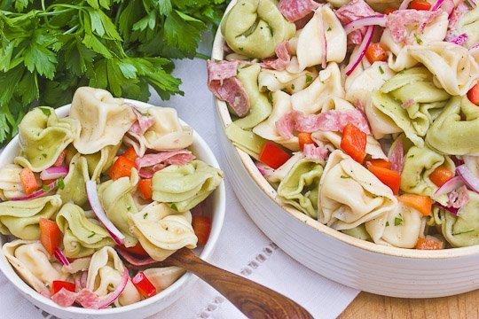 Tortellini salata - A szalami es teszta izletes duoja